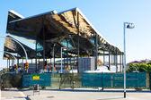Building Construction of Mercat de Encants — Stock Photo