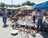 Mercat de Encants flea market  — Stock Photo