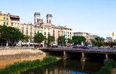 River Onyar in Girona. — Stock Photo