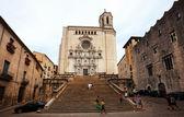 Girona gotik katedrali — Stok fotoğraf