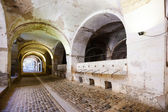 Stables in the dungeon of castle in Figueres — Stock Photo