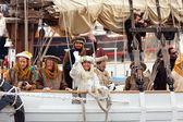 Cabalgata de Reyes Magos — Foto Stock