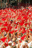 Opening of San Fermin Festival — Stock Photo