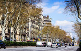 Barcelona. Gran Via de les Corts Catalanes — Stock Photo