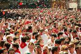 Opening of San Fermin Festival — Stock Photo