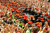 Begining of San Fermin — Stock Photo