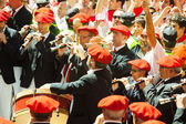 Begining of San Fermin feast — Stock Photo