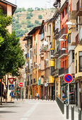 Street in Catalan town. — Stock Photo