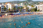 : Summer view of Sitges beach  — Stock Photo