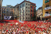 Start of San Fermin Festival  in Pamplona — Stock Photo