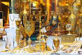 Ilded  souvenirs in Toledo — Stock Photo