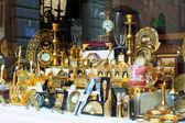 Tourist souvenirs  in Toledo — Photo