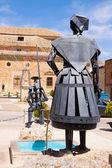Monument of Don Quixote and Dulcinea in El Toboso — Stock Photo