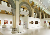 Interior of National Art Museum of Catalonia  — Zdjęcie stockowe