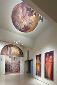 Religious Paintings Exhibit — Stock Photo