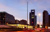 Plaza de Castilla in Madrid, Spain — Stock Photo