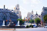 Plaza de Cibeles — Stock Photo