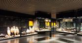 Utställningar av badalona museum — Stockfoto
