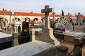 Spanish Christianity necropolis — Stock Photo