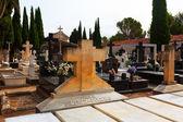 Spanish Christianity gravesite — Stock Photo