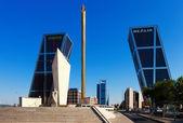 Plaza de Castilla — Stock Photo