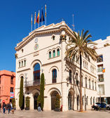 Old Town Hall in Badalona — Stock Photo
