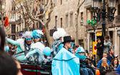 Carnival King parade — Stock Photo