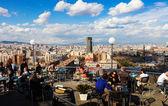 Top of Montjuic — Stock Photo