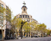 Union y el Fenix Espanol building. — Stock Photo