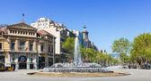 Gran Via de les Corts Catalanes — Stock Photo