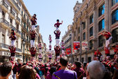 Castellers de Barcelona — Stock Photo
