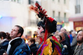 Last day of Sitges Carnival — Stock Photo
