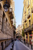 Barrio Gotico old city Street — Stock Photo