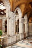 Interior in city hall of Barcelona — Stock Photo