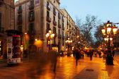 Rambla in Barcelona — Stock Photo