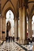 Almudena Cathedral interior — Stock Photo