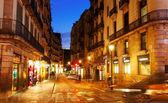 Street at Barcelona — Stock Photo