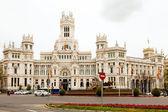 Palace of Communication in Madrid — Stock Photo