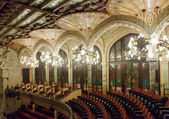 Palace of Catalan Music interior — Foto Stock