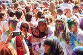 Holi Barcelona Festival — Stock Photo