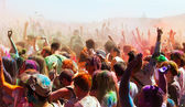 Holi Barcelona Festival — Stock Photo
