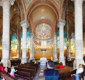 Interior of Temple Expiatori del Sagrat Cor — Stock Photo
