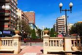 Avenue Federico Soto in Alicante — Stock Photo