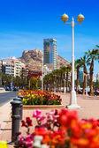 Seaside of Mediterranean. Alicante — Stock Photo