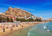 Beach in Alicante, Spain — Stock Photo