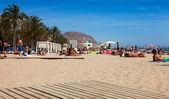 Mediterranean  beach — Stock Photo