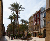 Calle Mayor. Alicante — Stock Photo
