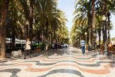 Paseo Explanada de Espana in Alicante — Stock Photo