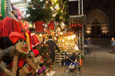 Traditional Christmas market near Cathedral. — Stock Photo