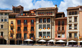 View of Plaza Mayor in Vic. Spain — Stock Photo